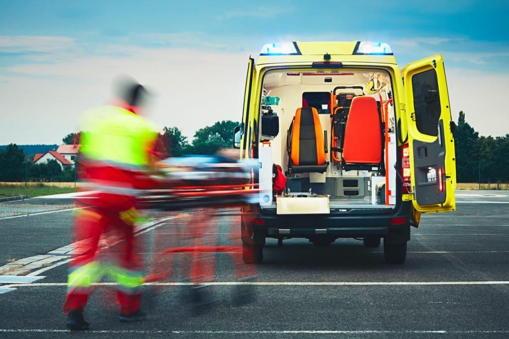 Medizinischer Notfall am Flughafen