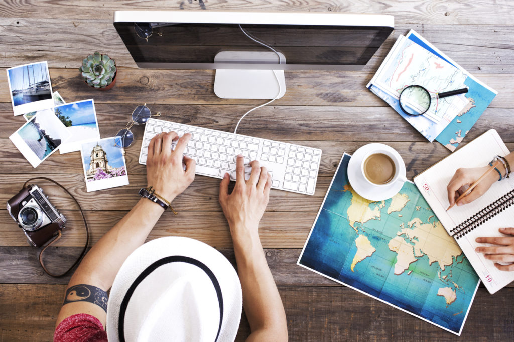 Buchung Pauschalreise online